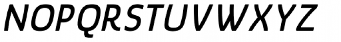 Glory Bold Italic Font UPPERCASE