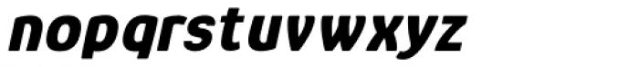Glory Heavy Italic Font LOWERCASE