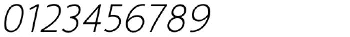 Glory Light Italic Font OTHER CHARS