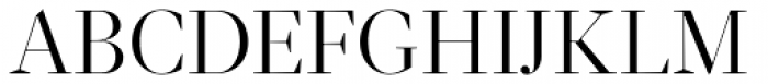 Glosa Display Roman Font UPPERCASE