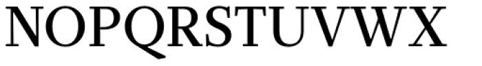 Glosa Medium Font UPPERCASE