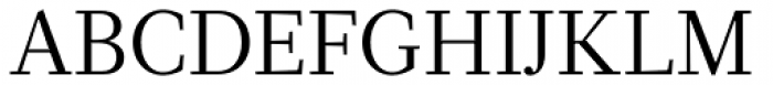 Glosa Roman Font UPPERCASE