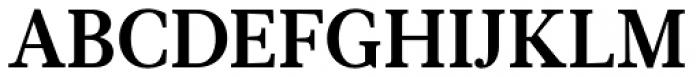 Glosa Text Bold Font UPPERCASE