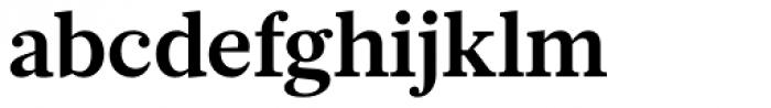 Glosa Text Bold Font LOWERCASE