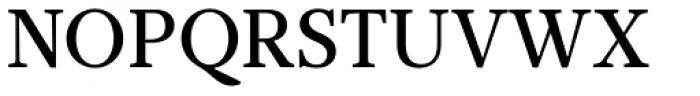 Glosa Text Medium Font UPPERCASE