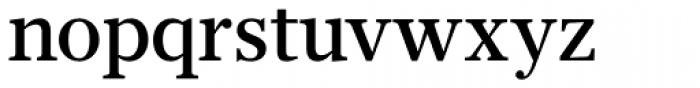 Glosa Text Medium Font LOWERCASE