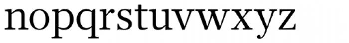 Glosa Text Roman Font LOWERCASE