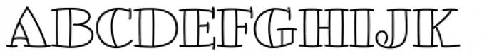 Glotona White Font UPPERCASE