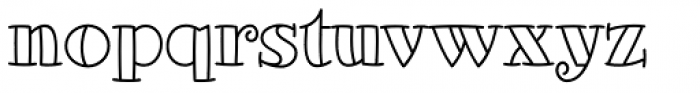 Glotona White Font LOWERCASE