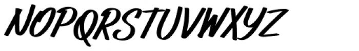Gloversville AOE Font UPPERCASE