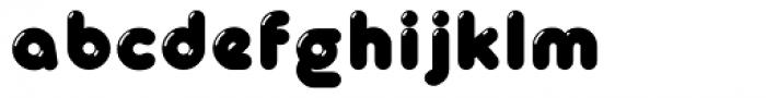 Glowworm Regular Font LOWERCASE