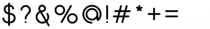 Gluck Regular Font OTHER CHARS