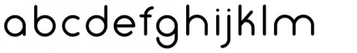 Gluck Regular Font LOWERCASE