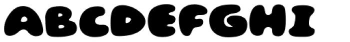Gluten FT Font UPPERCASE