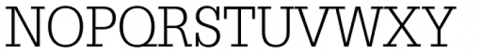 Glypha Light Font UPPERCASE