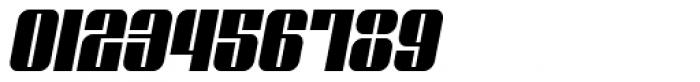 Glyphic Neue Narrow Italic Font OTHER CHARS