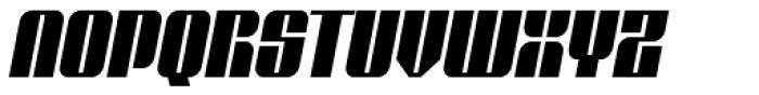 Glyphic Neue Narrow Italic Font UPPERCASE