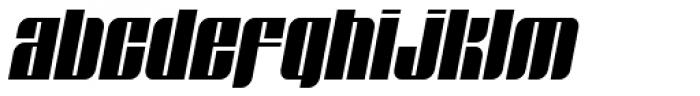 Glyphic Neue Narrow Italic Font LOWERCASE