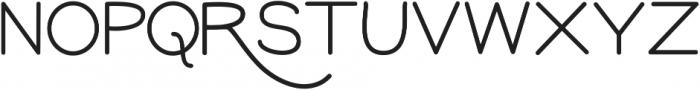 GM Freestone Sans Light ttf (300) Font UPPERCASE