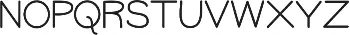 GM Freestone Sans Light ttf (300) Font LOWERCASE