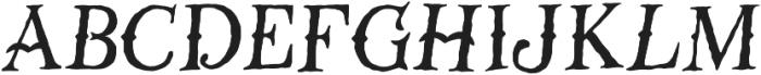 GM Stranger GM Stranger ttf (400) Font LOWERCASE
