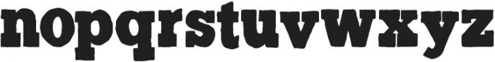 GM Trailhead Clean otf (400) Font LOWERCASE