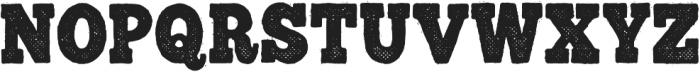 GM Trailhead Dirty otf (400) Font UPPERCASE