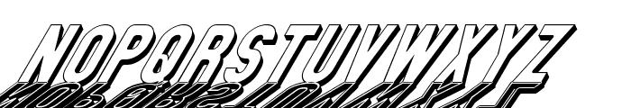 GM Exp Shadow Gravestone2 Font LOWERCASE