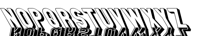 GM Exp Shadow Gravestone3 Font LOWERCASE