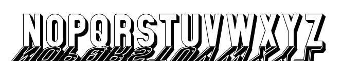 GM Exp Shadow Gravestone Font LOWERCASE
