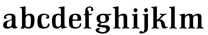 GM Hightop Font LOWERCASE