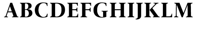 Gmuender Antiqua Bold Font UPPERCASE