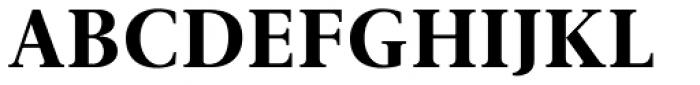 Gmuender Antiqua Pro Bold Font UPPERCASE