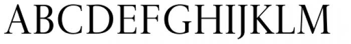 Gmuender Antiqua Pro Font UPPERCASE