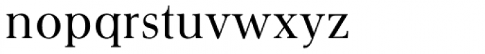 Gmuender Antiqua Pro Font LOWERCASE