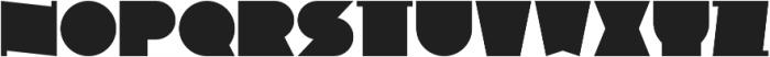 GNF-BOOLEAN Bold otf (700) Font UPPERCASE