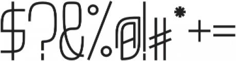 GNF Empire Regular otf (400) Font OTHER CHARS