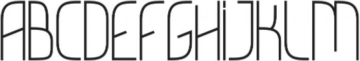 GNF Empire Regular otf (400) Font UPPERCASE