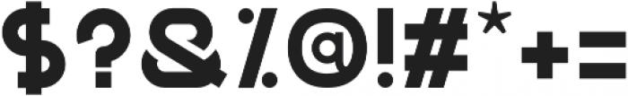 GNF-MENU Bold otf (700) Font OTHER CHARS