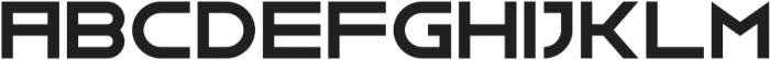 GNF-MENU Bold otf (700) Font UPPERCASE