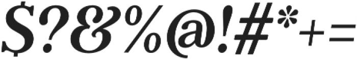 Gnaw Hard Italic otf (400) Font OTHER CHARS