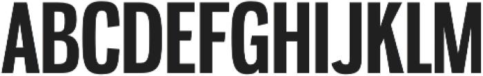 Gnuolane Bold otf (700) Font UPPERCASE