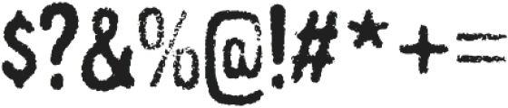 Gnuolane Grind Regular otf (400) Font OTHER CHARS