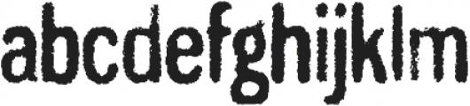 Gnuolane Grind Regular otf (400) Font LOWERCASE
