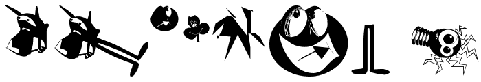 GnomesTwo Font OTHER CHARS