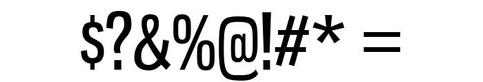 GnuolaneRg-Regular Font OTHER CHARS