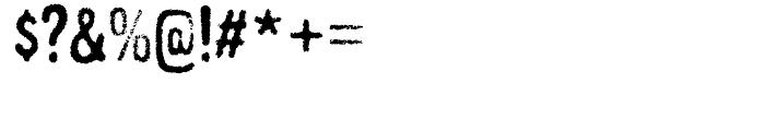 Gnuolane Grind Regular Font OTHER CHARS