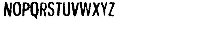 Gnuolane Jump Regular Font UPPERCASE