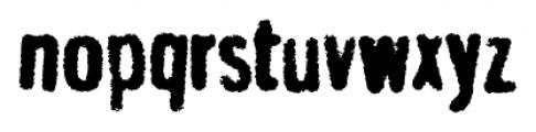 Gnuolane Jump Grind Bold Font LOWERCASE