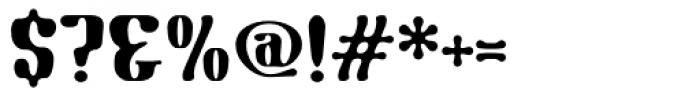 Gnomad BGauge Font OTHER CHARS